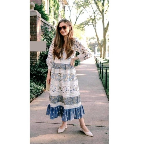 Anthropologie Roberta Midi Dress 4